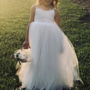 Other - tulle and lace Flower Girl/ First Communion Dress